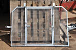 Landrover rear-grill ready for customer. Click for an enlargement.